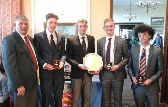 2015 South East Boys' Team Winners (Bedfordshire)