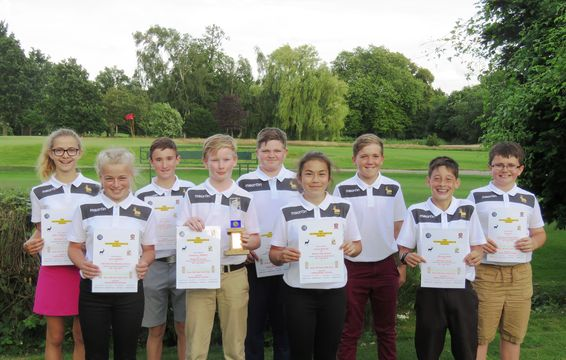 2016 Inter-County McPartlin Trophy Winners- Hertfordshire