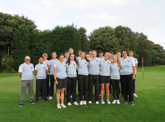 2016 Team for Scotland International with Team Managers